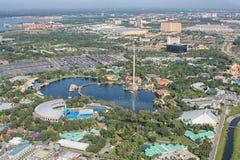 Overzeese van het avonturenpark Wereld, Orlando, Florida, de V.S. Royalty-vrije Stock Afbeeldingen