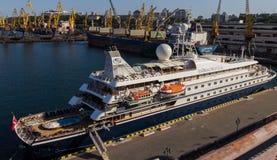 OVERZEESE van het cruiseschip DROOM Royalty-vrije Stock Foto
