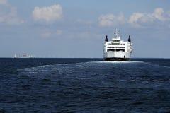 Overzeese van Puttgarden veerboot Stock Foto's