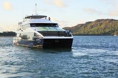 Overzeese veerboot in de Indische Oceaan Stock Afbeeldingen
