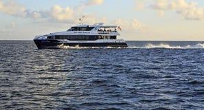 Overzeese veerboot op de Indische Oceaan Royalty-vrije Stock Foto