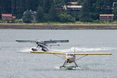 Overzeese vliegtuigen, Skagway, Alaska royalty-vrije stock fotografie