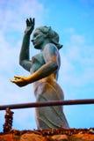 Overzeese vrouw in Lloret de Mar Mujer Marinera Royalty-vrije Stock Foto's