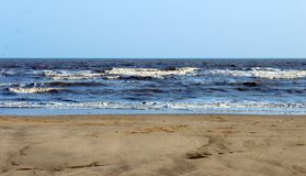 Overzeese Zandhemel Stock Afbeelding