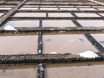 Overzeese zoute productie Royalty-vrije Stock Afbeeldingen