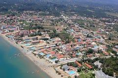 Overzicht op het eiland van Zakynthos Royalty-vrije Stock Foto's