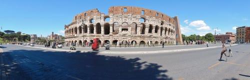 Overzicht van Colosseum stock afbeelding