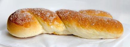 Overzicht van een croissant Royalty-vrije Stock Afbeeldingen