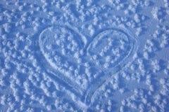 Overzicht van hart Stock Afbeelding