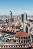 Overzicht van het centrum van Buenos aires Stock Foto