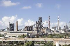 Overzicht van het staalwerk Stock Afbeelding