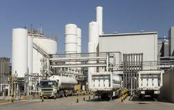 Overzicht van industriële faciliteit Royalty-vrije Stock Foto