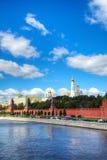 Overzicht van Moskou van de binnenstad Royalty-vrije Stock Afbeelding