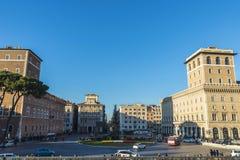 Overzicht van Rome, Italië Royalty-vrije Stock Foto