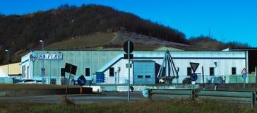 Overzicht van Safire s r L Leverancier van airconditioningssystemen in Italië stock afbeeldingen