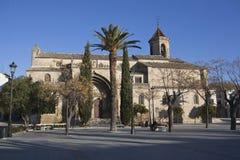 Overzicht van Vierkant 1 Mei en Kerk van San Pablo royalty-vrije stock foto's