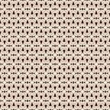 Overzichts naadloos patroon met abstract ornament Etnisch motief Herhaald geometrisch cijfersbehang Moderne oppervlakte royalty-vrije illustratie