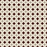Overzichts naadloos patroon met abstract ornament Kanten openwork motief Herhaald geometrisch cijfersbehang royalty-vrije illustratie