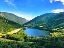 Overzie de de zomermening van Echo Lake royalty-vrije stock fotografie