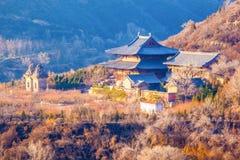 Overzie Kaihuo-tempel. stock afbeelding