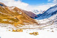 Overzie Siguniang-Berg van Balang-berg Stock Foto's