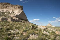 Ovest e collina orientale del Pawnee in Colorado di nordest Immagini Stock Libere da Diritti