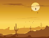 Ovest selvaggio illustrazione vettoriale