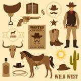 Ovest selvaggio Fotografia Stock Libera da Diritti