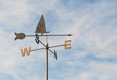 Ovest sudorientale del nord della rosa dei venti immagini stock libere da diritti