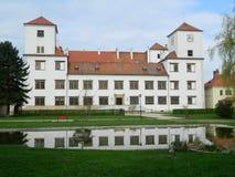 Ovice för ChateauBuÄ , Tjeckien Arkivbild