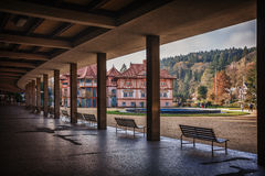 Ovice SPA LuhaÄ , Δημοκρατία της Τσεχίας Στοκ Εικόνα