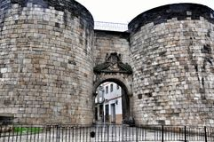Roman Walls of Lugo Stock Photos