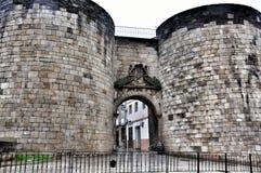Roman Walls of Lugo Stock Photos