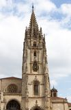 Oviedo cathedral Stock Photography