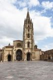 Oviedo cathedral Royalty Free Stock Photo