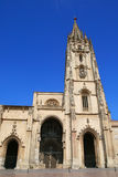 Oviedo Cathedral. Gothic Cathedral in Oviedo, Spain Royalty Free Stock Photo