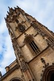 Oviedo Cathedral Tower Stock Photography