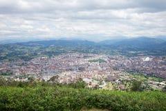Oviedo city landscape Stock Photography