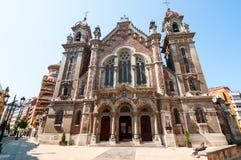 Oviedo, Espanha - segunda-feira 15 de agosto: Igreja de San Juan el Real Fotos de Stock