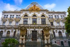 Oviedo Junta General Principado in Asturias. Oviedo Junta General Principado building in Asturias of Spain royalty free stock images
