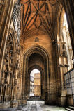 oviedo katedralny ganeczek Obrazy Stock