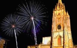Oviedo-Kathedrale Stockfotografie
