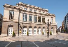 Oviedo, Spagna - lunedì 15 agosto 2016: Teatro di Campoamor Immagini Stock Libere da Diritti