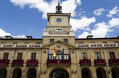 Oviedo, Spain. Architecture in Oviedo, northern Spain Stock Photography