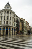 Oviedo, Spain. Architecture in Oviedo, northern Spain Royalty Free Stock Photos