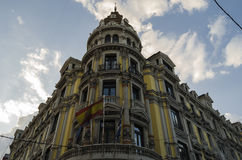 Oviedo, Spain. Architecture in Oviedo, northern Spain Royalty Free Stock Photography