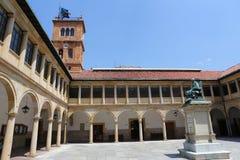 Oviedo Universiteit Royalty-vrije Stock Fotografie