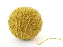 Ovillo de las lanas Fotografía de archivo libre de regalías