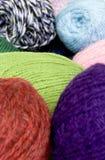 Ovillos del color Fotografía de archivo libre de regalías