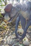 Oviraptor-Dinosaurier Stockbild